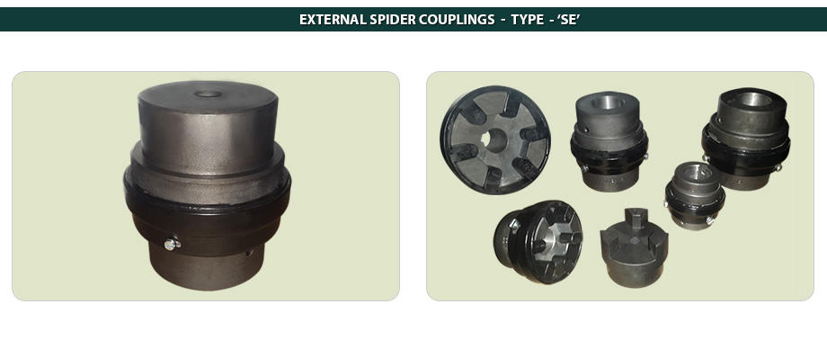 External Spider Couplings