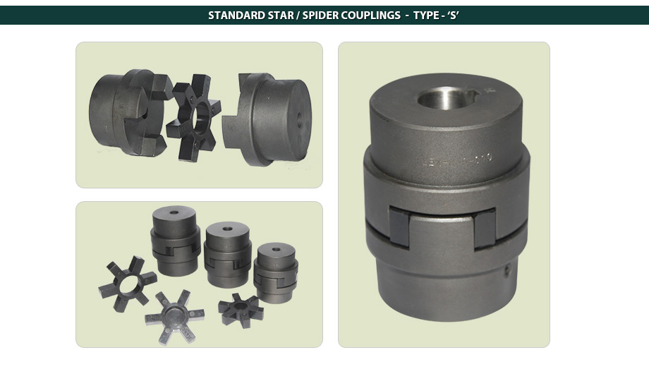 Standard Star Couplings / Spider Couplings