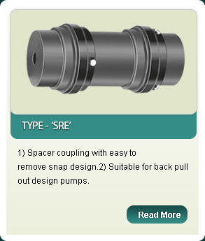 External Spider Couplings  Type-S RE